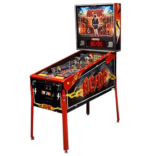 AC/DC Premium Vault Pinball Machine