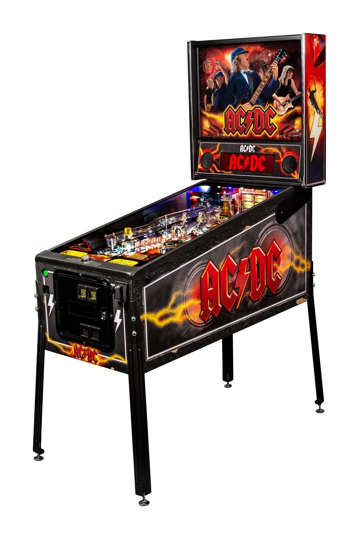 AC/DC Pro Vault Pinball Machine