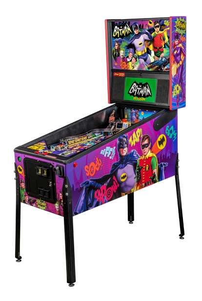 Stern Batman 66 Premium Pinball Machine Free Shipping
