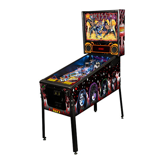 Stern KISS Premium Pinball Machine Free Shipping