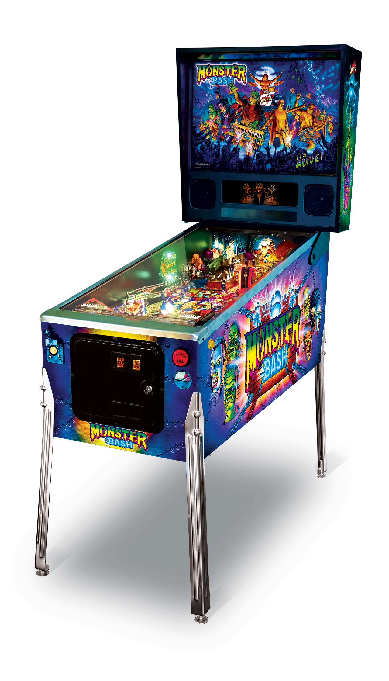 Chicago Gaming Monster Bash Classic Edition Pinball Machine