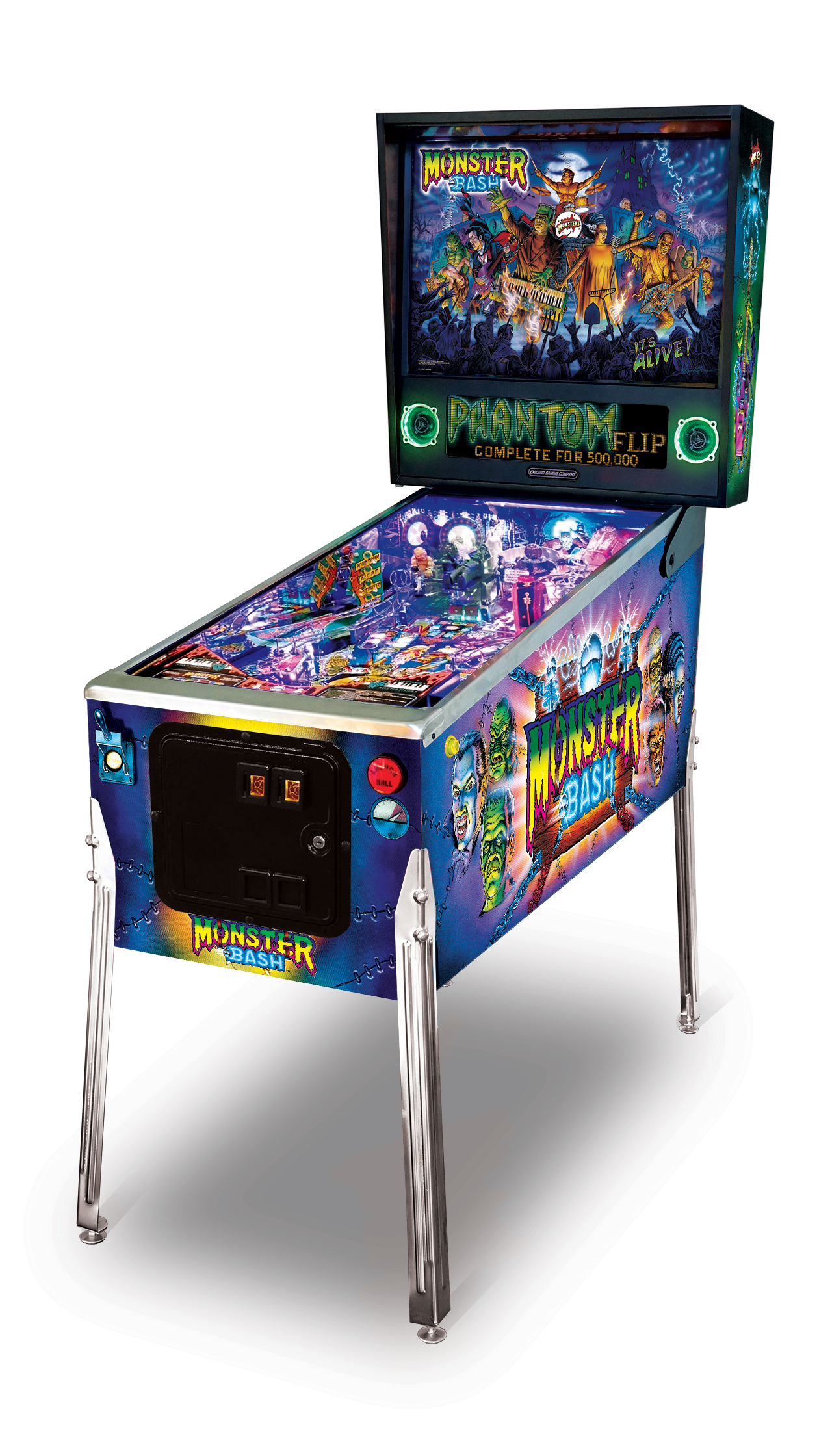 Chicago Gaming Monster Bash Special Pinball Machine