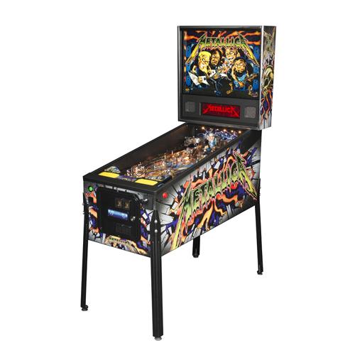 Stern Metallica Pro Pinball Machine Free shipping