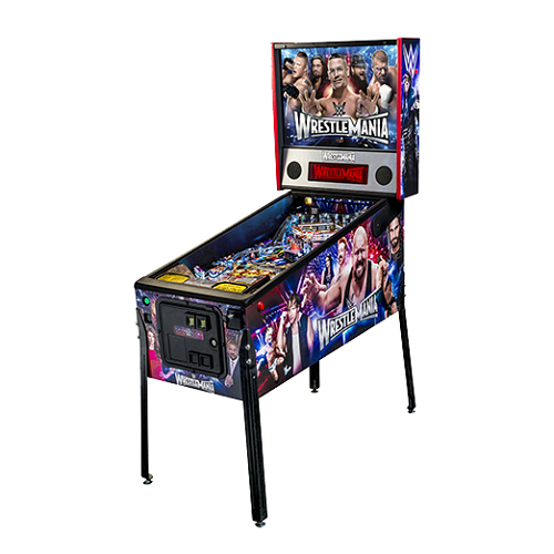 Stern WWE Wrestlemania Pro Pinball Machine