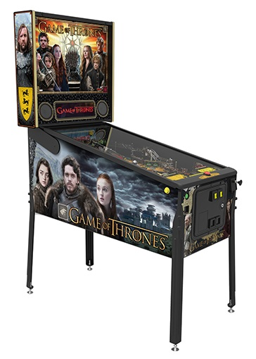 Stern Game Of Thrones Pro Pinball Machine Free Shipping