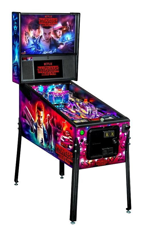 Stern Stranger Things Pro Pinball Machine Free Shipping