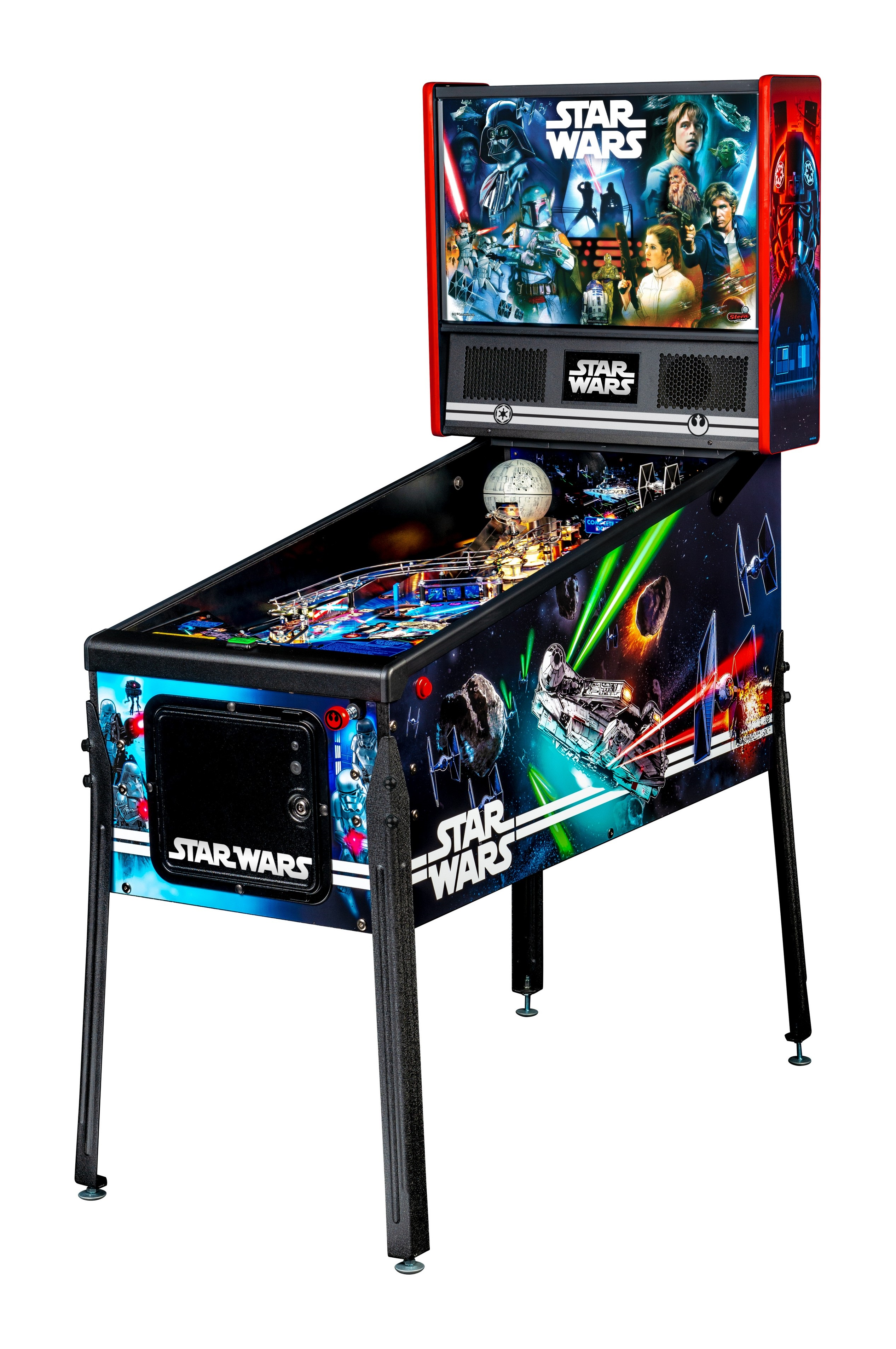 Stern Star Wars Home Edition Movie Art  the Pin  Pinball Machine Free Shipping