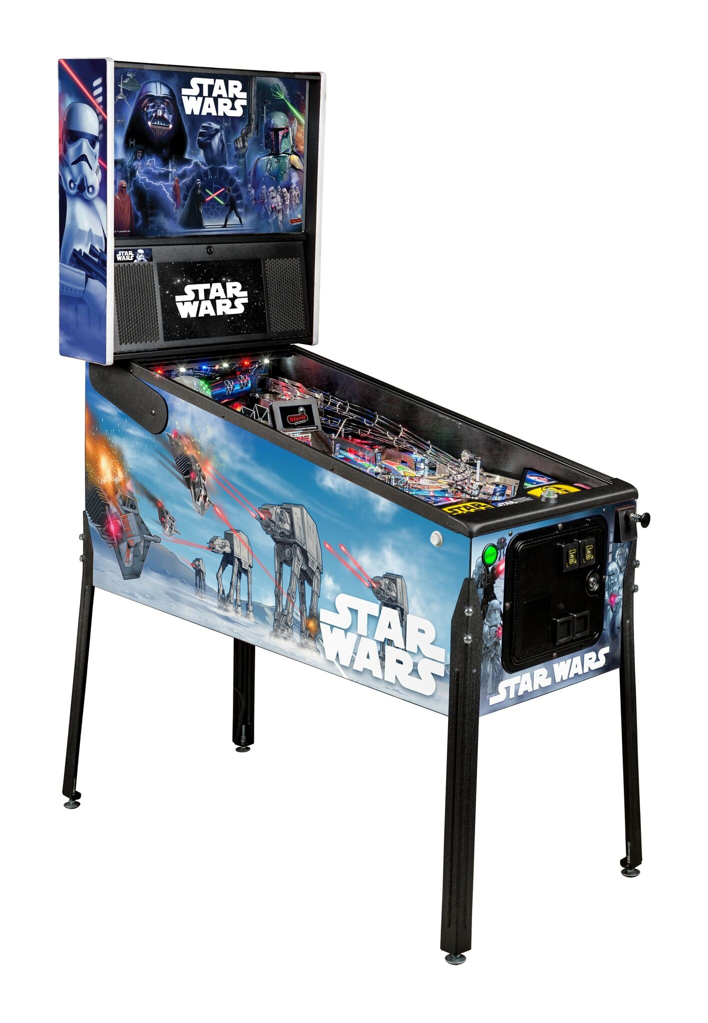Stern Star Wars Premium Pinball Machine Free Shipping